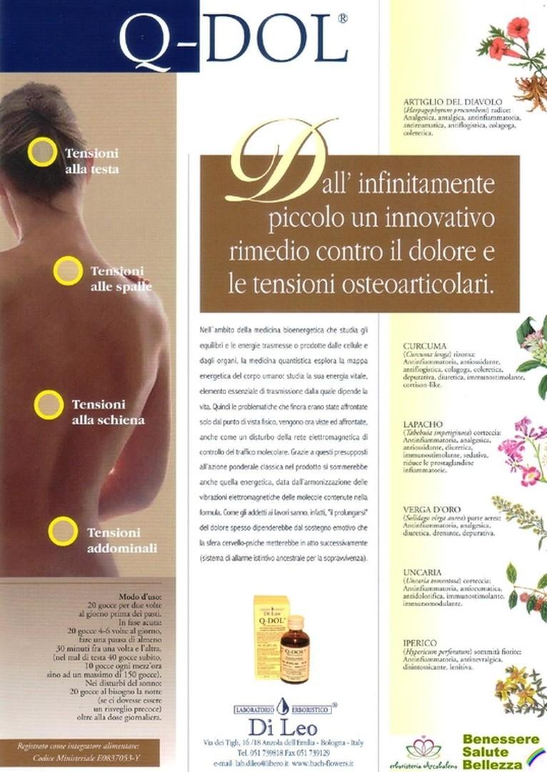 erboristeriarcobaleno salute benessere antidolore bellezza schio Q-DOL