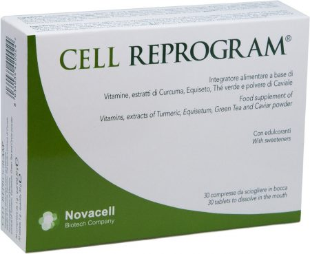 Cell Reprogram 30 cps da sciogliere in bocca