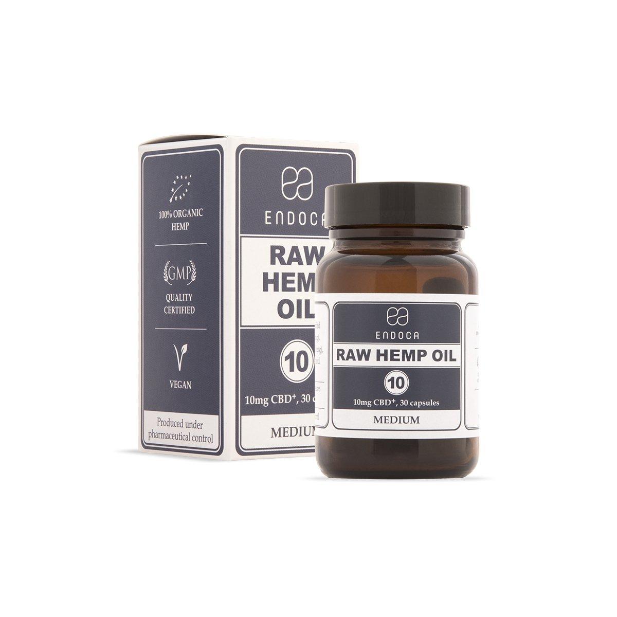 Capsule di olio di canapa RAW 300mg