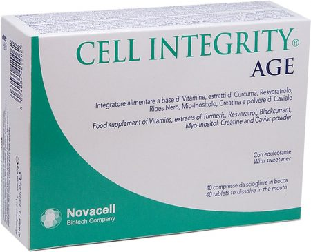 Cell Integrity Age 40 compresse da 1 gr