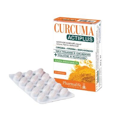 Curcuma Actiplus ad elevata biodisponibilità 45 cps