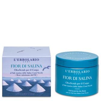 OleoScrub per il Corpo Fior di Salina 500 gr