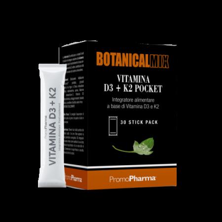 Vitamina D3+K2 Pocket 30