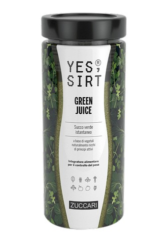 Yes Sirt Green Juice Barattolo 280g