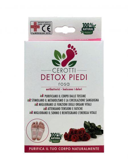 cerotti detox piedi rosa